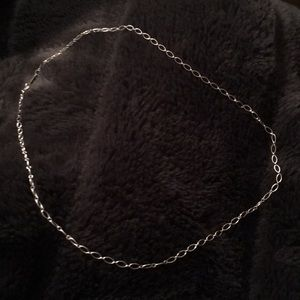 Tiffany &Co oval link chain